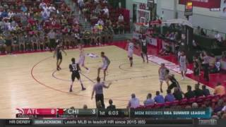 Chris Walker 2017 NBA Summer League Chicago Bulls