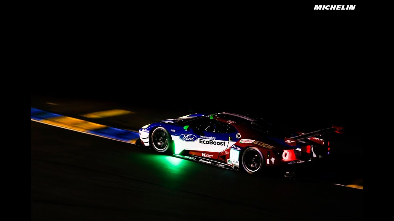 Gt Race Car Wallpaper Night Session 2016 Le Mans 24 Hours Michelin