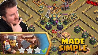 INFERNO TOWN Challenge made simple | Clash of Clans English