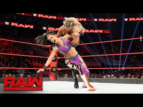 Bayley vs. Charlotte Flair - Raw Women's Championship Match: Raw, Feb. 13, 2017