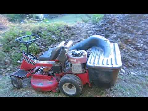 snapper lawn bagging
