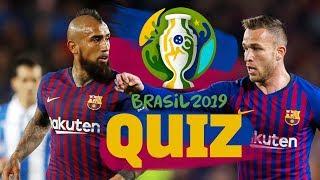 COPA AMÉRICA 2019 | Arturo Vidal vs Arthur quiz