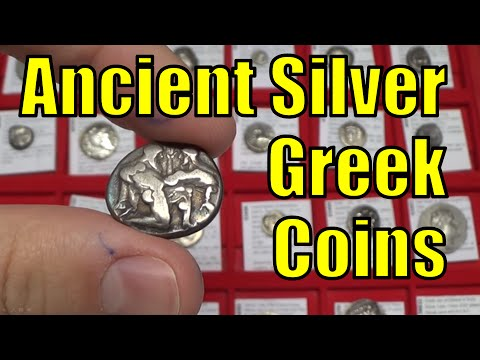 Guide to Ancient Greek  SILVER Coins   Collecting How To   O