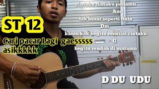 Download Chord Mudah  (ST 12 -  Cari Pacar Lagi) Tutorial Gitar Pemula