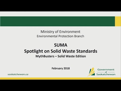 Spotlight on Solid Waste Standards (E8) – Convention 2018