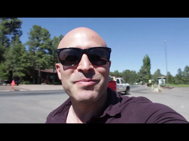 Magic for the People of Pinewood! - Weekly travel with Seth Grabel Magic!