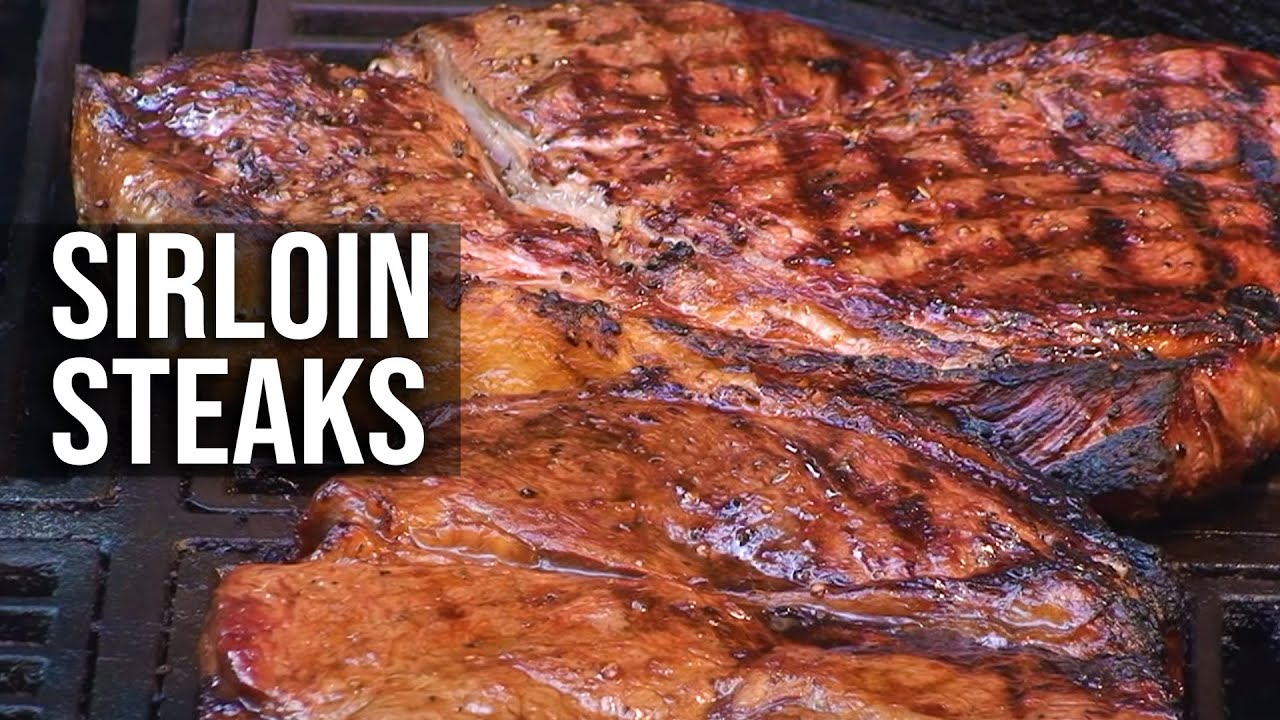 Sirloin Steaks Recipe By The Bbq Pit Boys Youtube