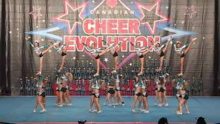 Cheer Sport Great White Sharks International Open 5 Run 1