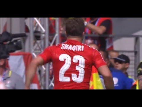 Golazo de tijera: Shaqiri marcó un espectacular tanto