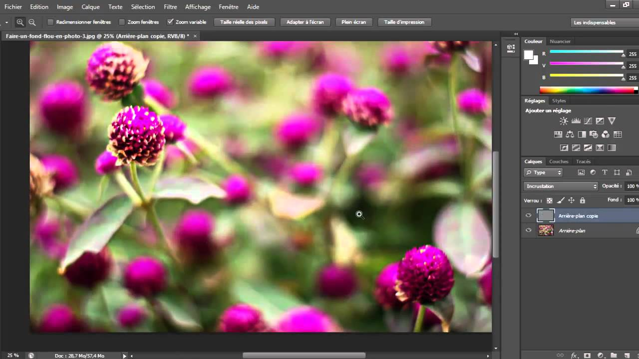 Comment Rendre Une Image Plus Net Sur Photoshop Youtube