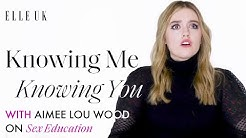 Sex Education's Aimee Lou Wood Talks About Her Castmates   Knowing Me Knowing You