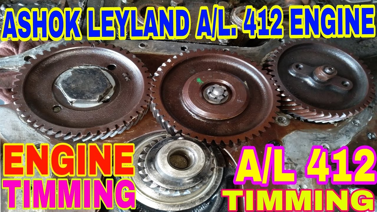 How To 412 Engine Timming Settings For Ashok Leyland Truck, By Mechanic  Gyan,