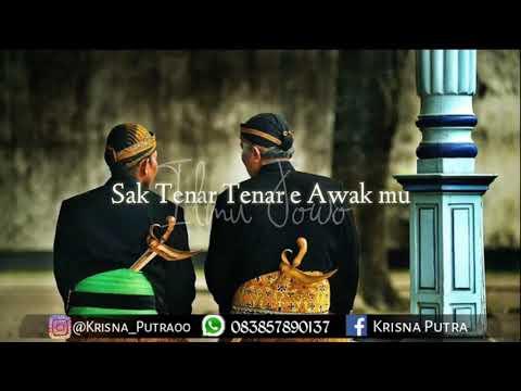 Cocok Buat History Wa.Untuk Saling Mengigat Kan BaHas Jawa