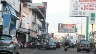 jln gajah mada in Khuntien or Pontianak KALBAR Indonesia 2012