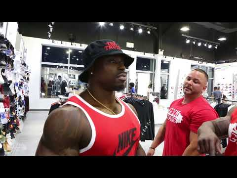 GYM GANG TRUTH AFTER HIS COMPETITION SHOW IN NEW JERSEY WITH THE REST OF THE GANG