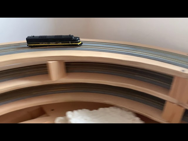 3-25-2020 - Track Cleaning & Testing - N Scale Model Railroad Build