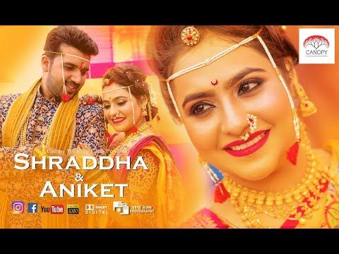 Shraddha & Aniket Royal Marathi Wedding Film 2019 #Mumbai Pune Mumbai
