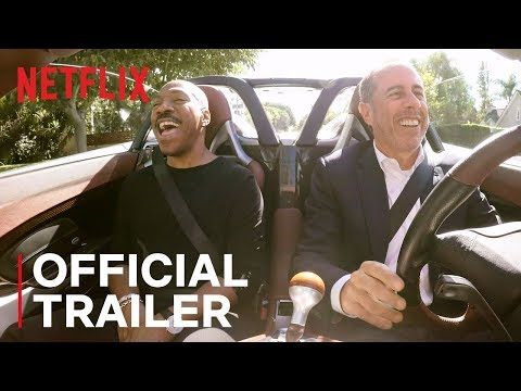 Jerry Seinfeld and Eddie Murphy Talk Stand-Up, Stardom and Reuniting for 'Comedians in Cars Getting Coffee'