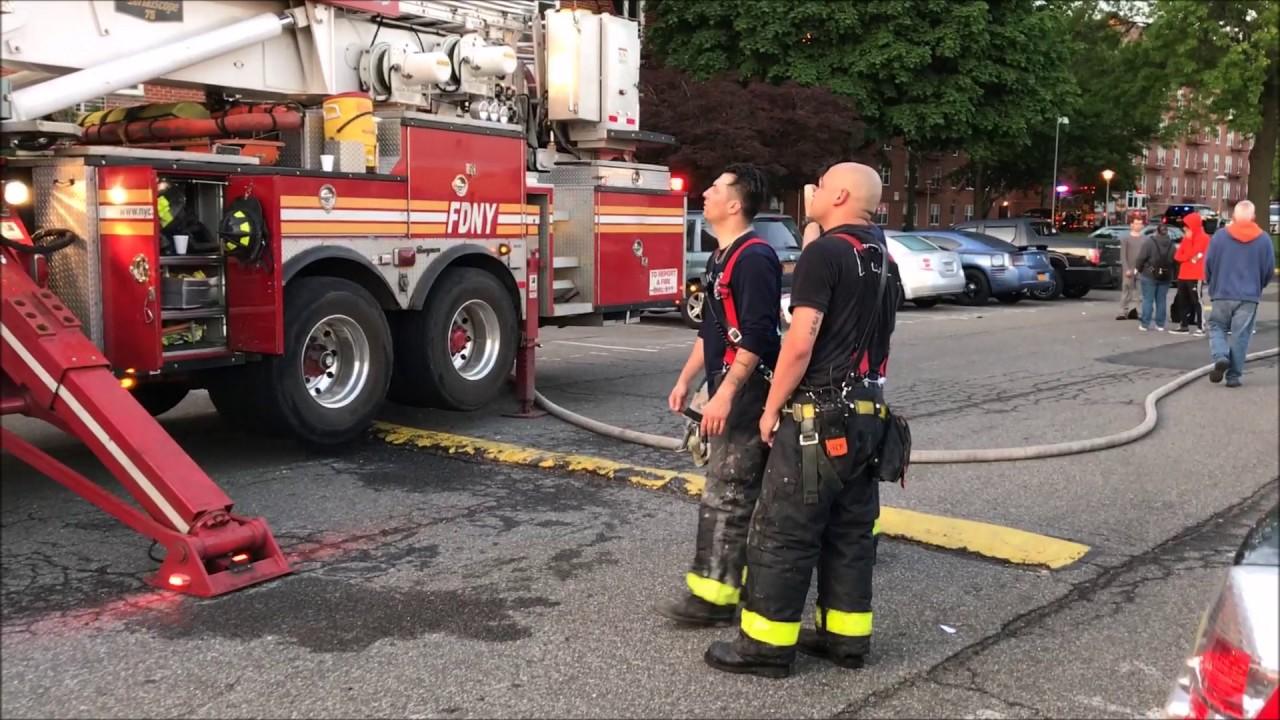Fdny Box 2619 5th Alarm Fire On Mill Road In Oakwood Staten Island New York City