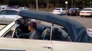 1963 Pontiac Bonneville convertible.