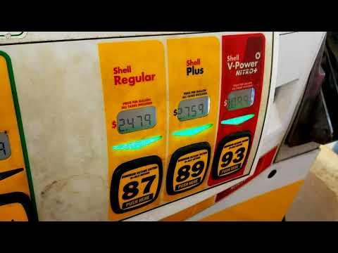 Дизельное топливо, бензины - цены в Америке (Алабама)