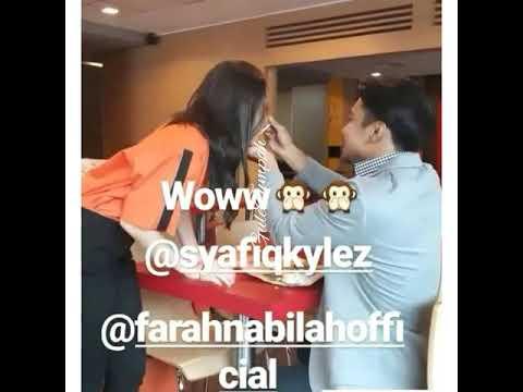 Sweetnya | Syafiq Kyle & Farah Nabila | Bts Mocha kau Bahagia