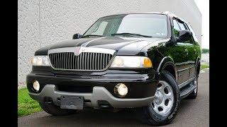2000 Lincoln Navigator 4WD Black