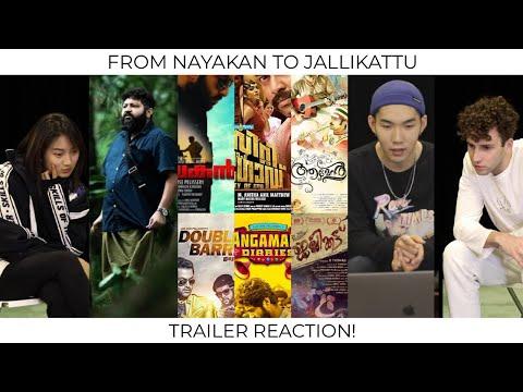 REACTION   NAYAKAN To JALLIKATTU   Lijo Jose Pellissery Movies   By Chinese, Ukrainian & Indonesian