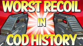"""Top 10 """"CRAZIEST RECOIL GUNS"""" in COD HISTORY - (Top 10 - Top Ten)"""