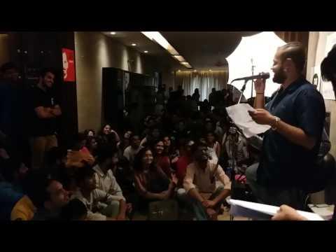 """'Jaun Elia Aur Hum' :- """"Falsafa-e-Jaun"""" Recited by : - Ankit Gautam thumbnail"""