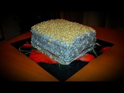Как приготовить торт Манник с Маком. Видео рецепт