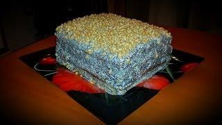 Как приготовить торт Манник с Маком. Видео рецепт(, 2014-03-16T19:04:58.000Z)