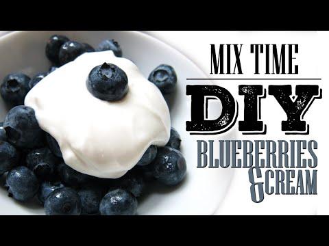 DIY eLiquid Recipe | MIX TIME | BLUEBERRIES AND CREAM | Max VG