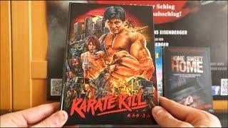 KARATE KILL (AT Blu-ray Mediabook) / Zockis Sammelsurium Nr. 465