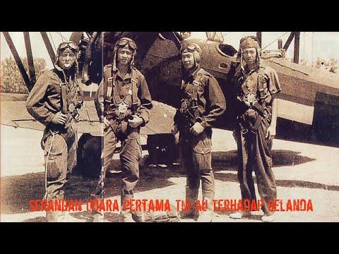 Serangan Udara pertama TNI AU Terhadap Posisi Belanda 1947 (Serangan Fajar)