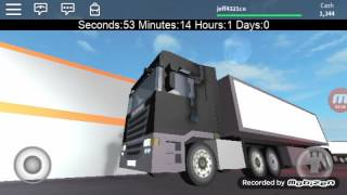 Roblox (truck simulator) ep 2