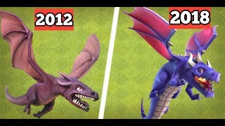 5 THINGS THAT CHANGED IN HISTORY OF CLASH OF CLANS