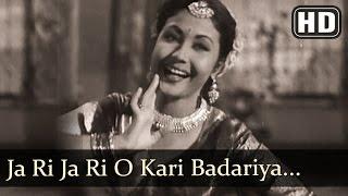 Ja Ri Ja Ri O Kari Badariya (HD) - Azaad Songs - Meena Kumari - Dilip Kumar - Dance - Filmigaane