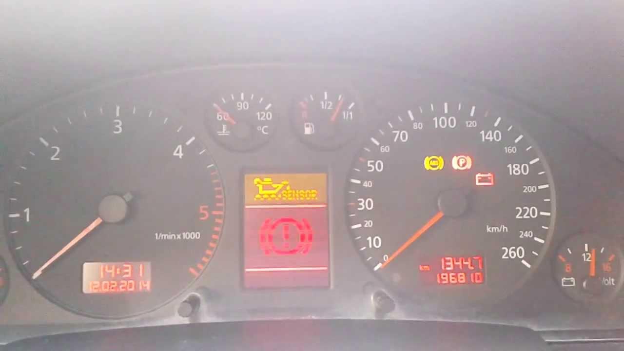 2000 Audi A4 Warning Lights