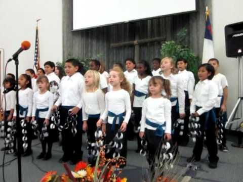 Vacaville Adventist School Thanksgiving Program 1