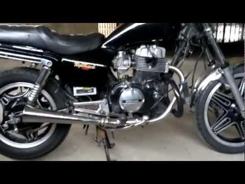 Honda CB 450 Nighthawk Black