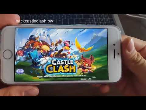 Castle Clash Hack-unlimited Gold-gems And Mana (100% Working) 2017