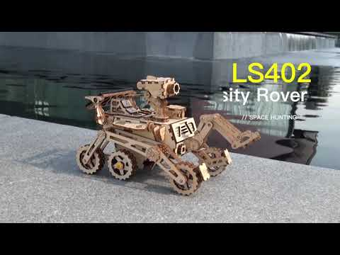 Moveable Spirit Rover Solar Energy Wooden Puzzle