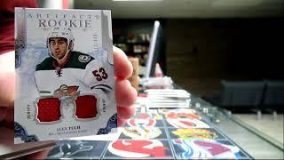 450 Sports #2534 - 2017/18 Artifacts hockey double box break