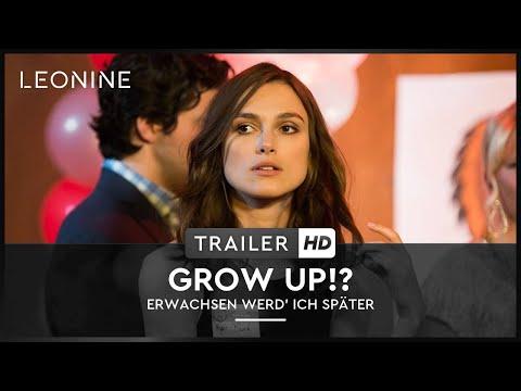 GROW UP!? - Erwachsen werd' ich später - Trailer (deutsch/ge
