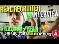 REAL $105,000 Interview with a Recruiter