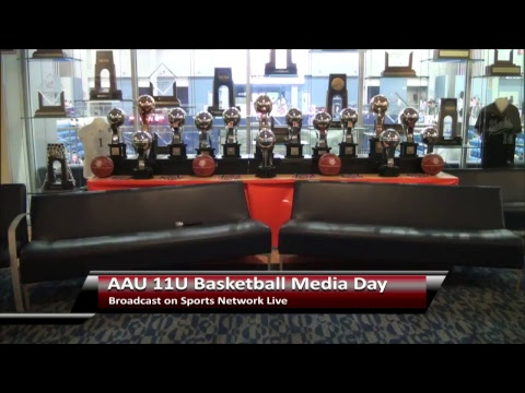 AAU 11U National Championship Media Day - Day 1 - July 23, 2017
