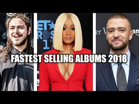 20 Fastest Selling Albums of 2018 So Far [January - June]