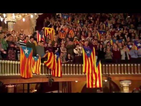 El cant de la senyera - Concert Sant Esteve 2015