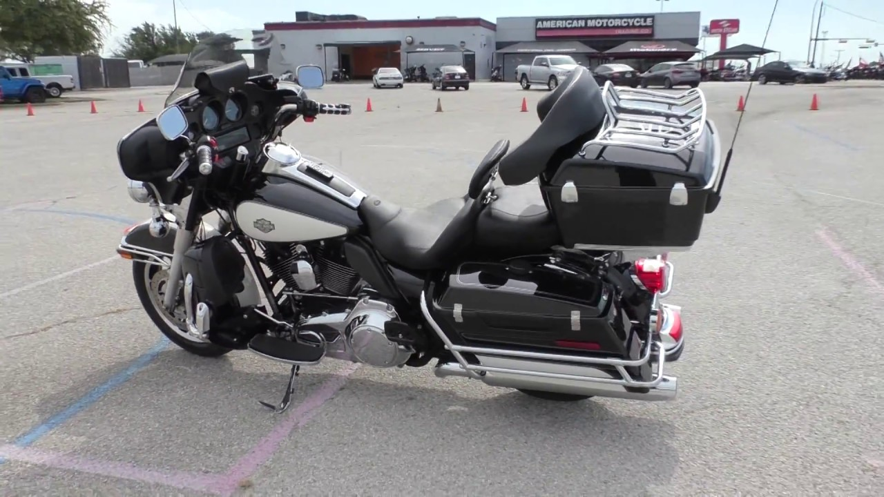 harley police davidson electra glide flhtp motorcycles used